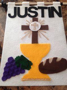 First Communion Banner creo que debo intentarlo...