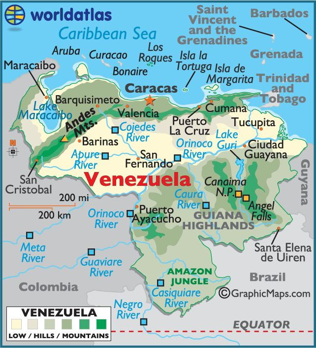 232 best maps of latin america images on pinterest american venezuela map geography of venezuela map of venezuela gumiabroncs Image collections