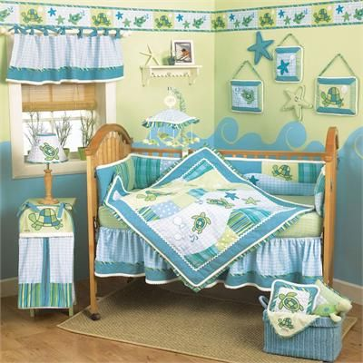 amazoncom turtle reef 9 piece bedding set with bumper by cocalo 19