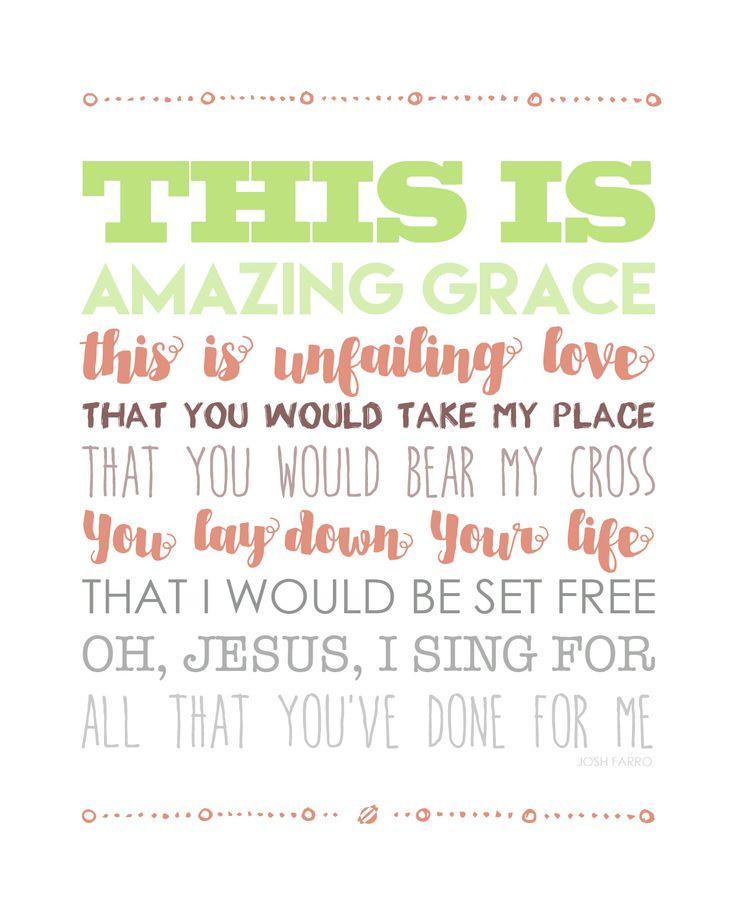 Amazing Grace Wall Decor best 25+ amazing grace ideas on pinterest | gods grace, religious