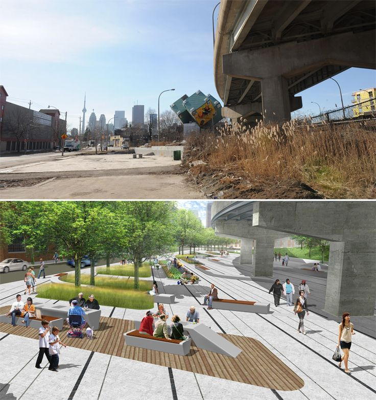 urban parks | Visionary Design For Urban Parks – Underpass Park in Toronto