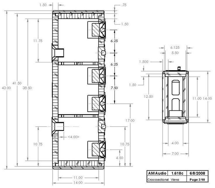Great Diy Home Theatre Speaker Design