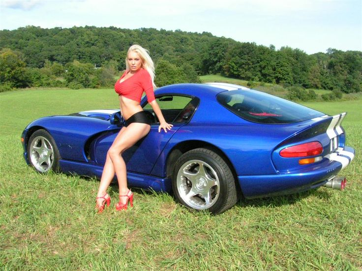 muscle cars and girls | ... program.: Cars and girls go together like peanut butter and jelly