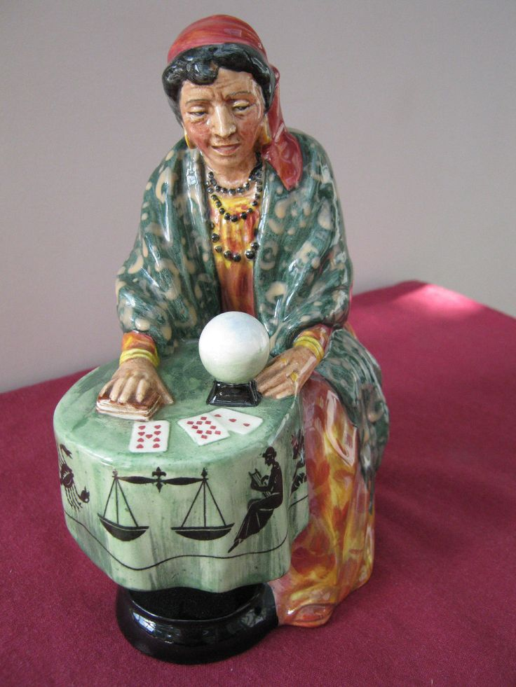 Royal Doulton Figurine - 'Fortune Teller' HN2159 - PERFECT! | eBay