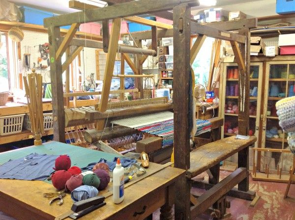 From rags to riches-- Lincolnville couple weaves rugs from recycled clothing