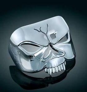 Kuryakyn Zombie Skull Brake Light Cover