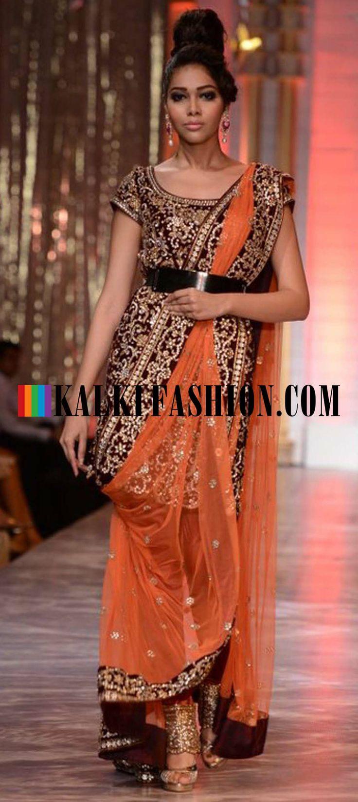 http://www.kalkifashion.com/designers/neeta-lulla.html Models walking the runways for designer Neeta Lulla at Indian Bridal Week at Mumbai