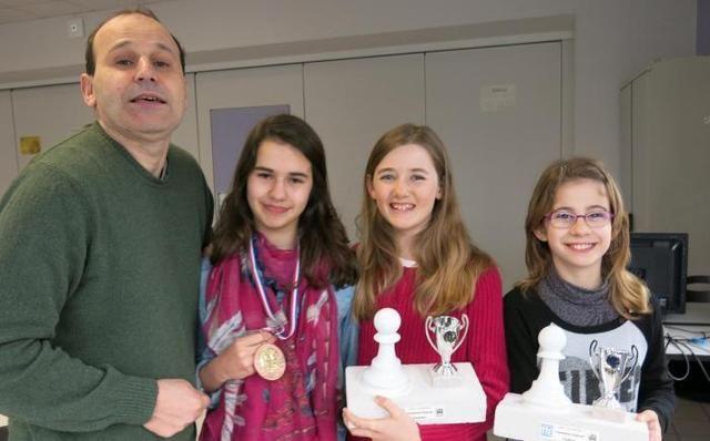 Des championnes d'échecs à La Béchellerie - 30/03/2015, Saint-Cyr-sur-Loire (37) - La Nouvelle République