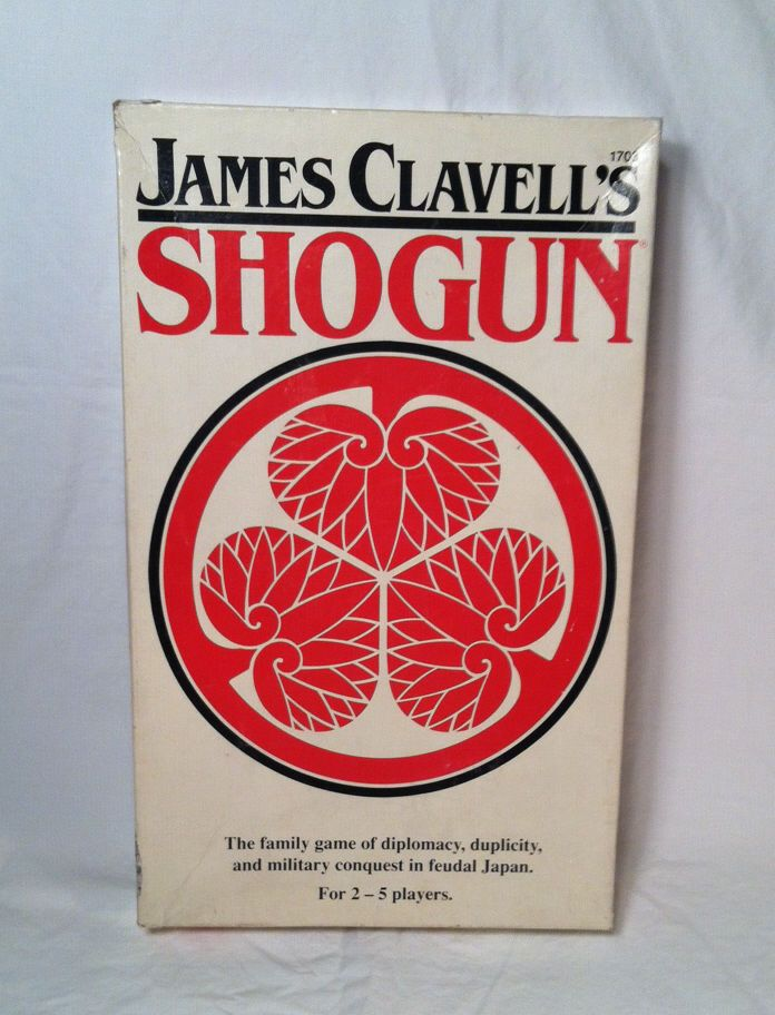 Vintage James Clavell's Shogun 1983 board game Medieval Japan FASA Games  #FASA