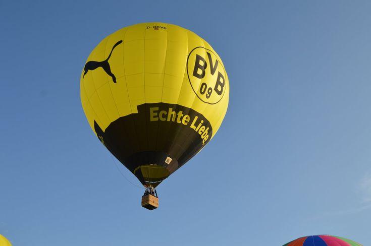 BVB-Ballon (D-OBVB)startet am 05.09.2016 am Startgelände der Warsteiner Brauerei (WIM 2016)