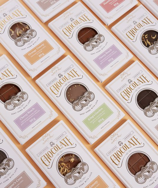 Lapp & Fao Chocolate on Packaging of the World - Creative Package Design Gallery
