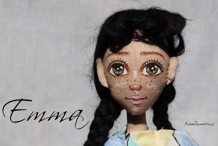 Lalka szmacianka Emma - KamaZawadzka - Lalki