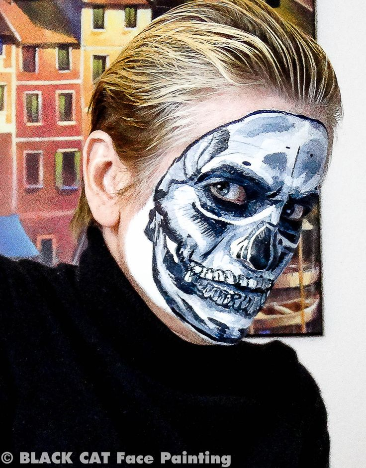 17 Best images about BLACK CAT Face Painting on Pinterest ...