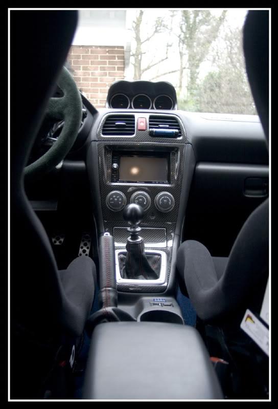 2006 Subaru Wrx Sti Interior