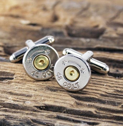 Bullet Cuff Links | Red Rolling Pin