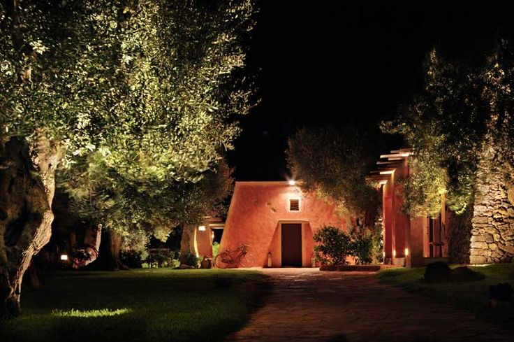 Masseria Picca Picca - esterno sera