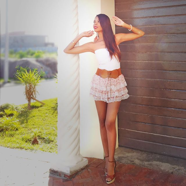 Fashion : Pretty in Pink Floral Chiffon and White Lace - See more at: http://angellavie.blogspot.com/2013/06/summer-outfit-2013-pretty-in-pink.html#sthash.NhEYRgmT.dpuf