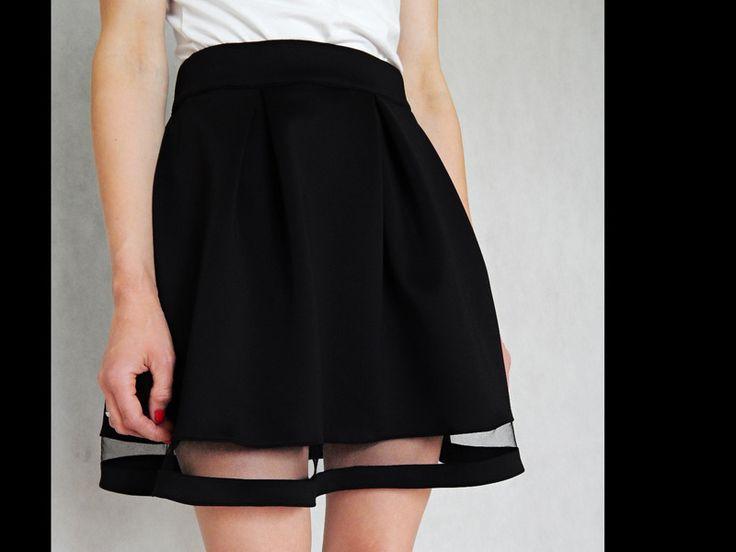 spódnica rozkloszowana z koła S/M nowa w 1boso na DaWanda.com