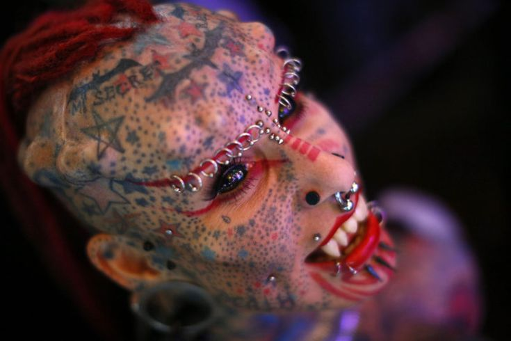 Tattoo, skin implant and body piercing fans from around the world have   gathered in Caracas for a four-day event celebrating extreme body   modification at the Venezuela Tattoo Expo.
