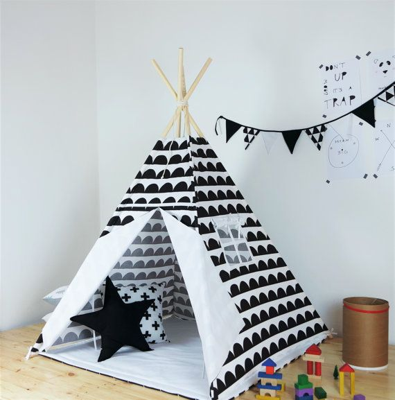 Children's teepee playtent tipi zelt wigwam kids от Minukids