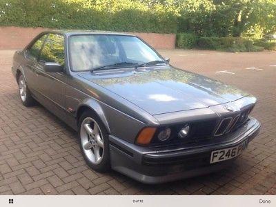 eBay: BMW 635 CSI - SHADOWLINE - MOTORSPORT EDITION - 1 OF 181 BUILT #classiccars #cars