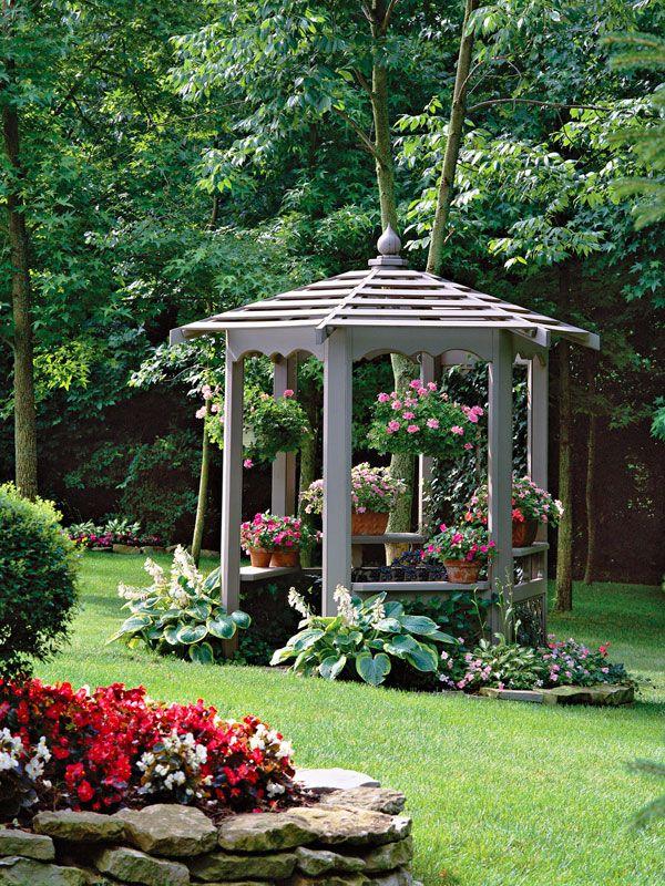 Gorgeous Garden Structures - Gazebo Reinvented