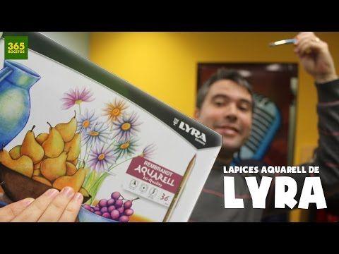 APRENDER A DIBUJAR CON LAPICES DE ACUARELA, LYRA AQUARELL: Como dibujar profesionalmente paso a paso - YouTube