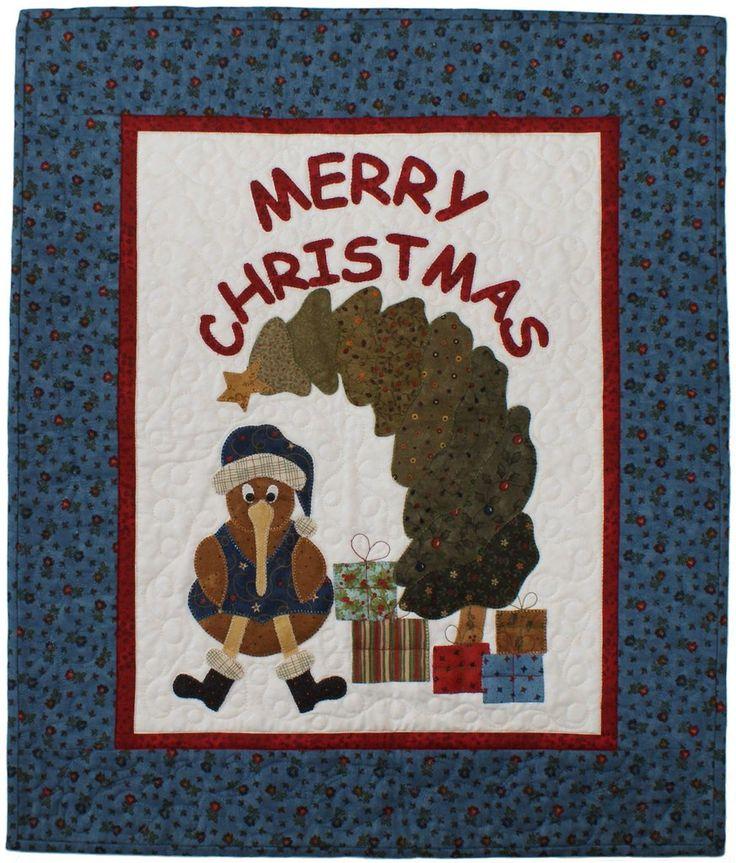 Christmas Kiwi – Tracey Roberts Designs