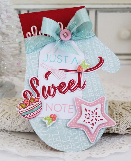 Sweet Note Card by Melissa Phillips for Papertrey Ink (November 2016)