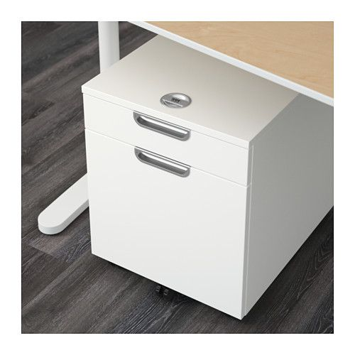 GALANT Drawer unit/drop file storage, white white 17 3/4x21 5/8