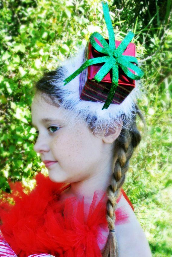Christmas headband christmas present headband over the for Over the top ugly christmas sweaters