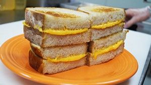 How to make the perfect grilled cheese  from Cleveland's Melt Bar and Grilled! Brown both sides of bread!