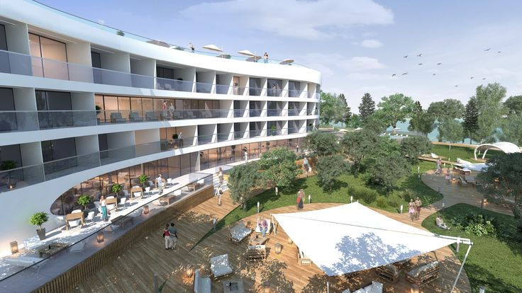 Seaside hotel design by ELD Poland