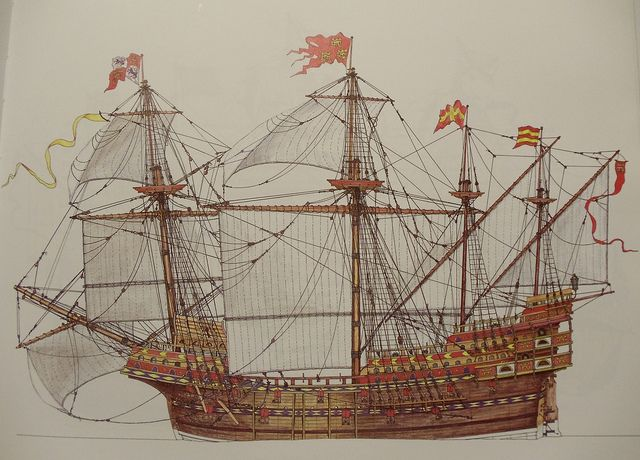 "an introduction to the heavy spanish armada in 16th century Life on board a sixteenth century spanish ship ships used by the spanish explorers among the ships used by the spanish explorers in the 16th century were the carracks, known in spain as ""naos"", the caravels, and the galleons, which were off-springs of the earlier naos and caravels."