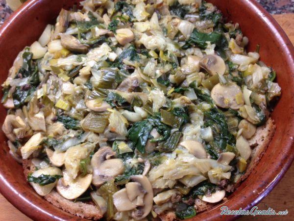 Sopas mallorquinas de verduras #ComidaEspañola #CocinaEspañola #RecetasEspañolas #SpainFood