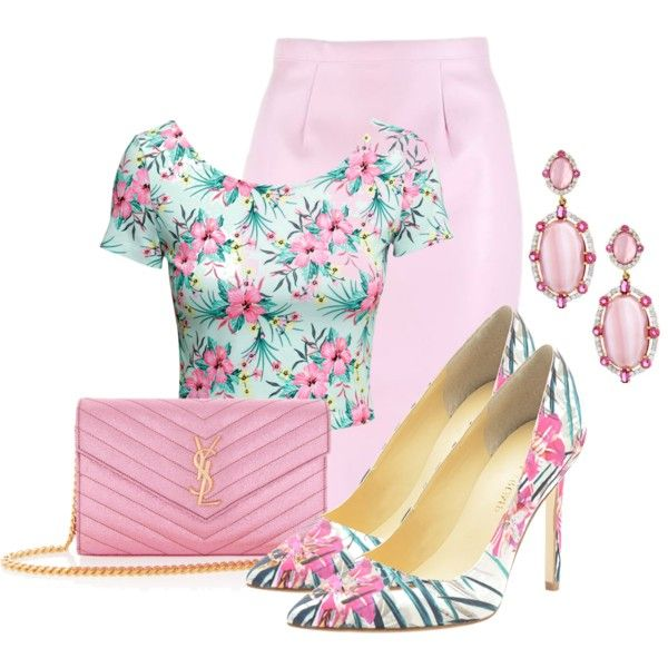 printed shoes contest by leeann829 on Polyvore featuring moda, H&M, Ivanka  Trump, Yves