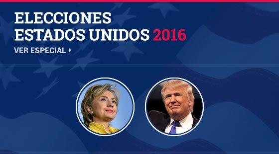 Conoce a los candidatos del Partido Republicano y del Partido Demócrata a la presidencia de Estados Unidos en 2016.