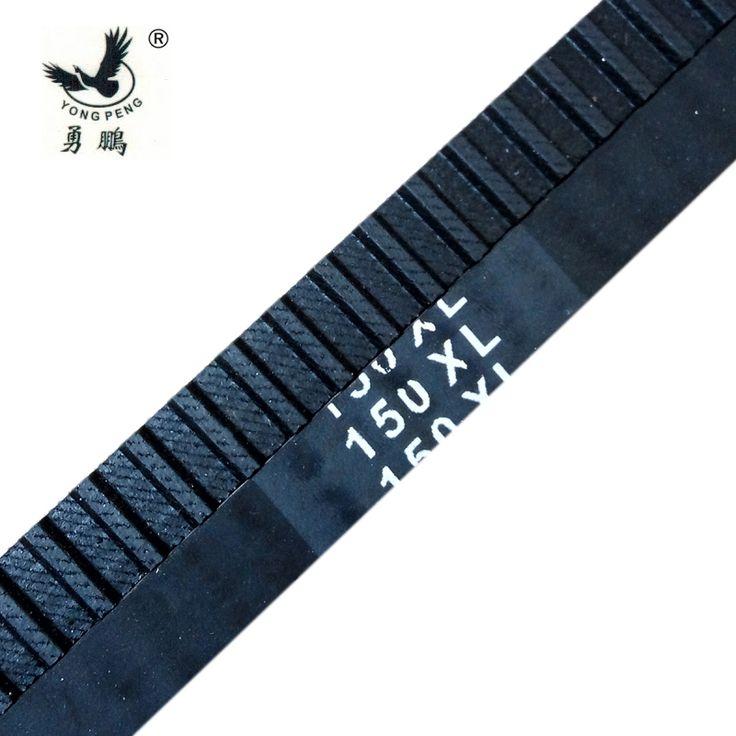 "Inch trapezoid 5pcs XL Timing belt 150 XL 037 teeth 75 width 0.37"" (9.4mm) length 381mm neoprene rubber 150XL037 free shipping"
