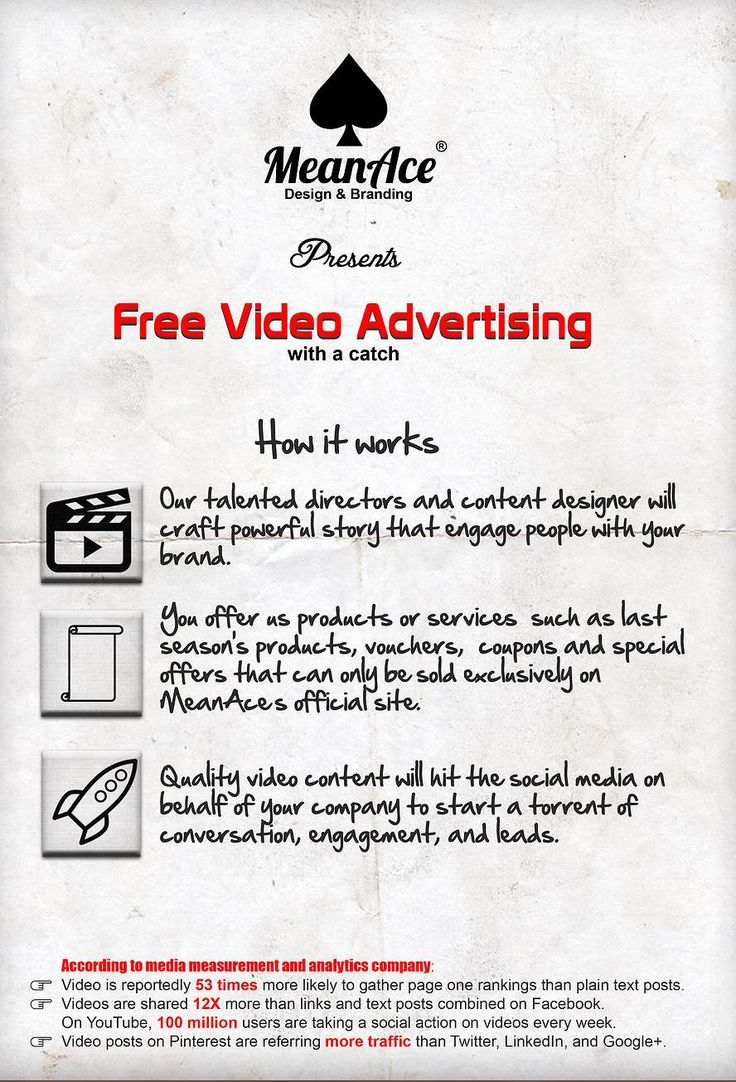 Video Filming Service & it's FREE