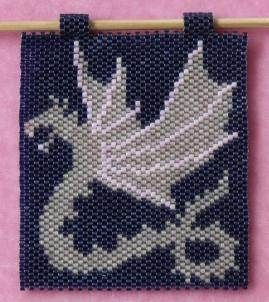 free beaded banner instructions