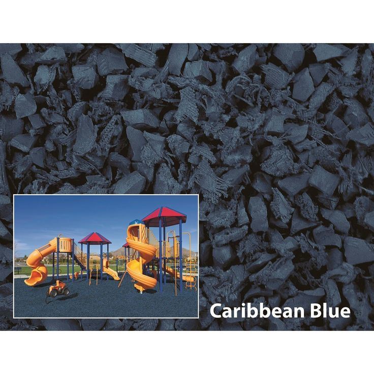 NuPlay Rubber Mulch 75 Cubic Foot Pallet #NP75CFCB