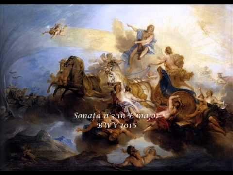 Johann Sebastian Bach (1685-1750) Sonatas for violon & obbligato harpsichord Rachel Podger Trevor Pinnock