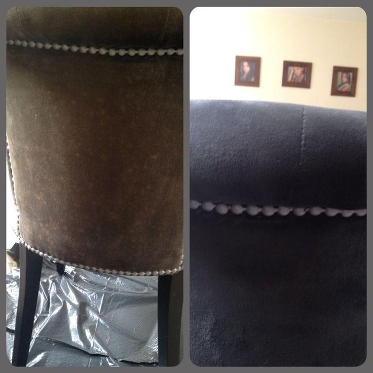 Annie sloan is the best kringloopstoelen die erg verkleurd waren gewoon een nieuw jasje - Hoe een verf kleur voorbereiden ...