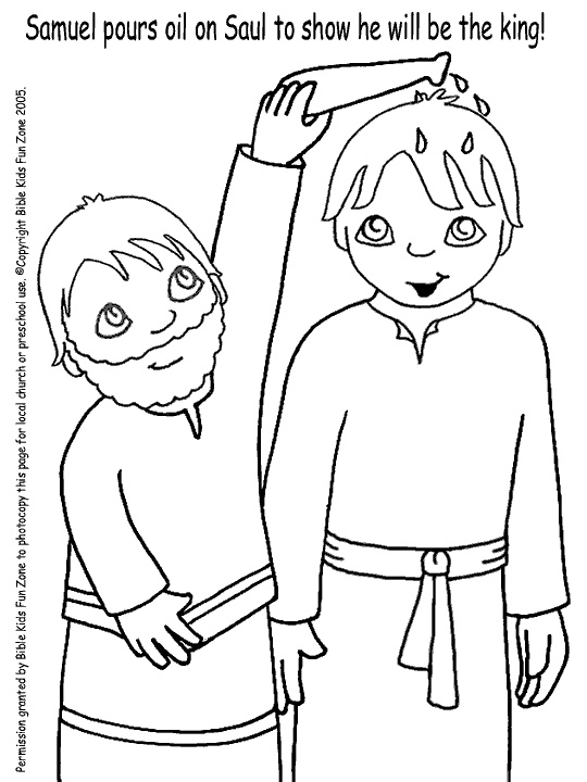 david becomes king coloring page - 17 best images about bible class ideas on pinterest