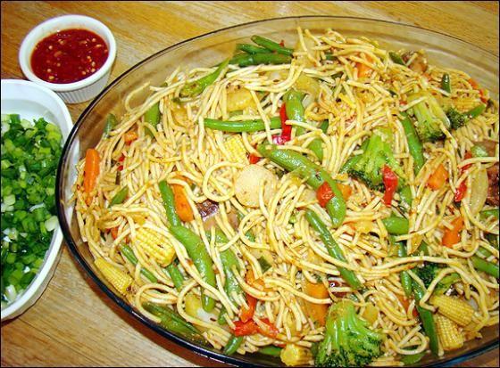 Vegetable hakka noodles Recipe http://www.morningcable.com/life-style/food/37982-vegetable-hakka-noodles-recipe.html
