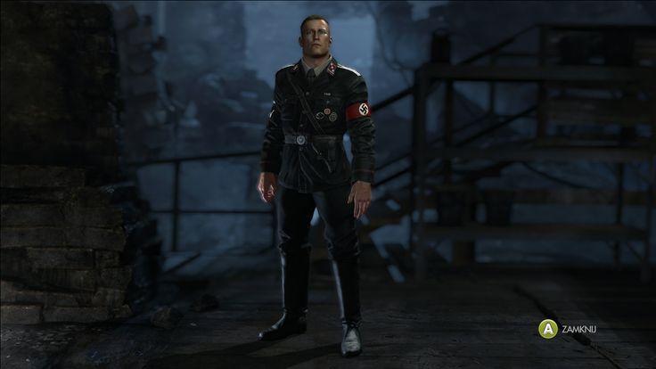 Wolfenstein the Old Blood B.J Blazkowickz