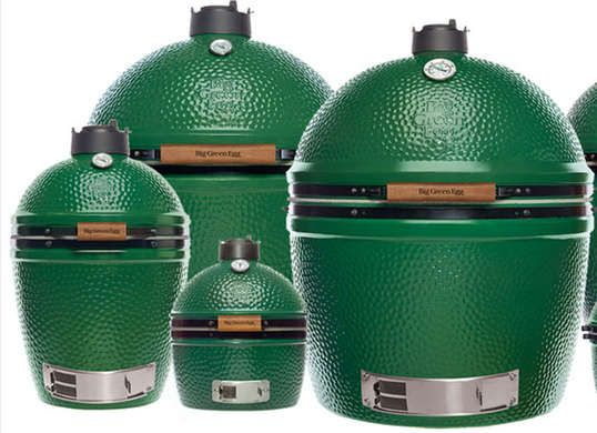 Recognized by its iconic egg-shaped exterior, the Big Green Egg is a kamado-style outdoor grill. The patented airflow system allows precise temperature control for top-notch grilling, while the ceramic material is designed to last. Plus it has a lifetime warranty!