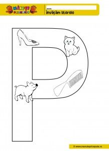 P -010 - Fise de lucru cu litera P
