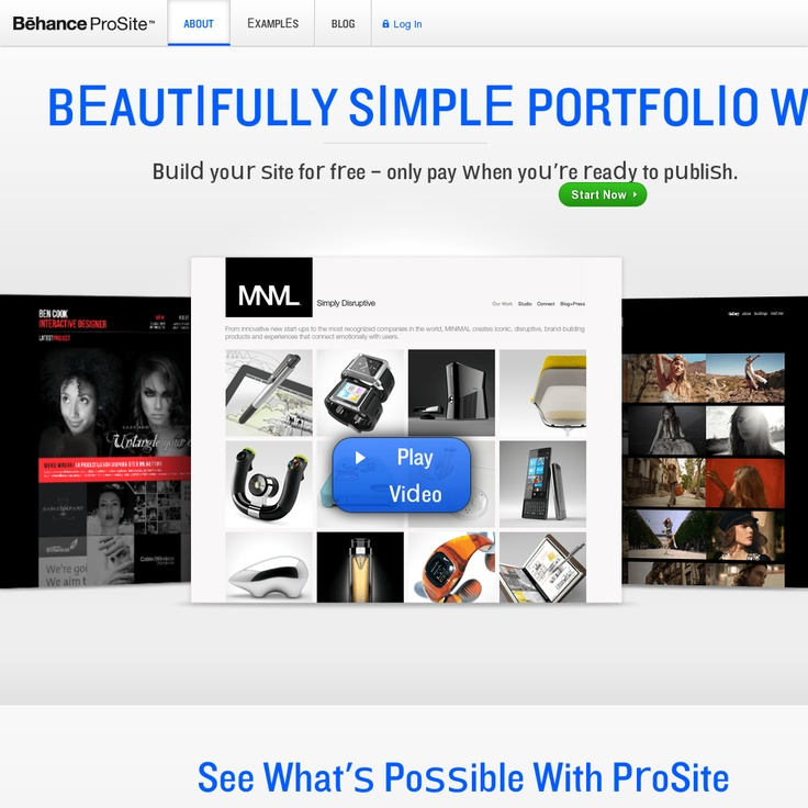31 best Best Visual Portfolio Website Builders images on Pinterest - resume website builder