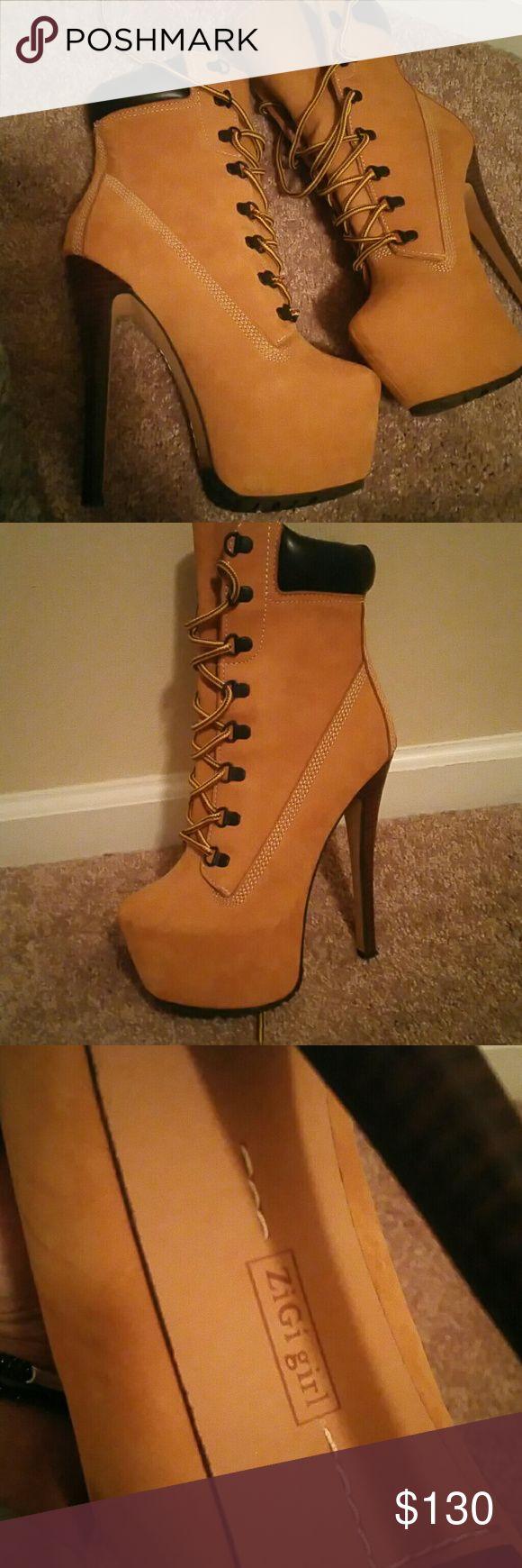 Zigi Girl Boot only Never worn.. Timberland style Zigi Girl Boot size 7.5 Zigi Soho Shoes Ankle Boots & Booties